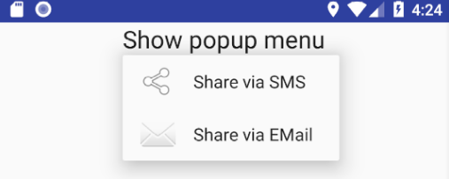 How to create ActionBar/Toolbar and Menu in Android | en proft me
